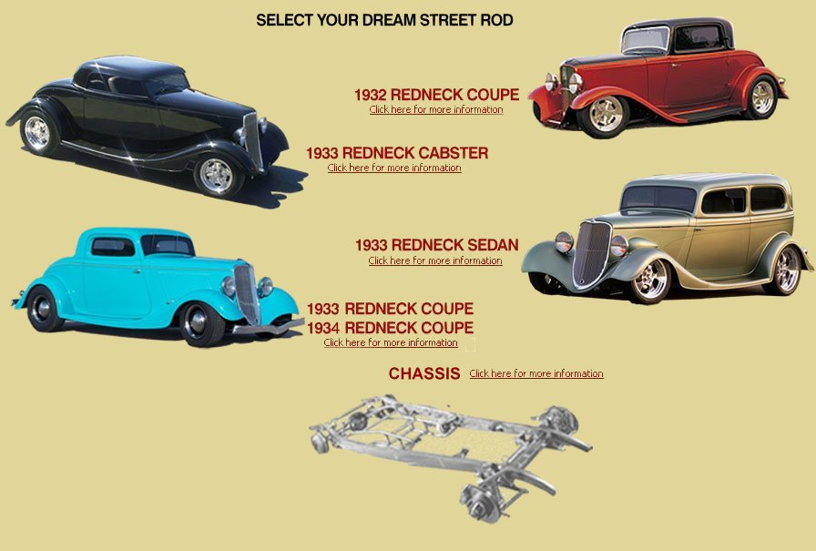 1932,33,34 Ford hot rods